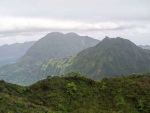 Looking down on the Windward side from the KST