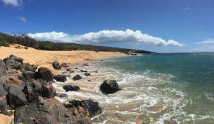 Hawaiian beach and coastline